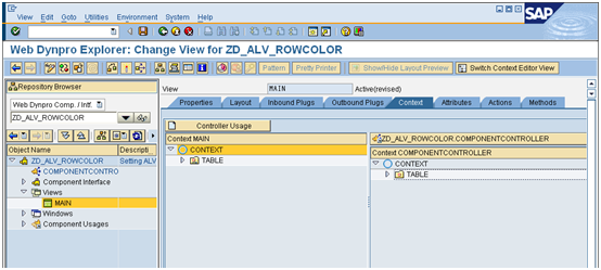 Setting ALV row color based on condition in webdynpro